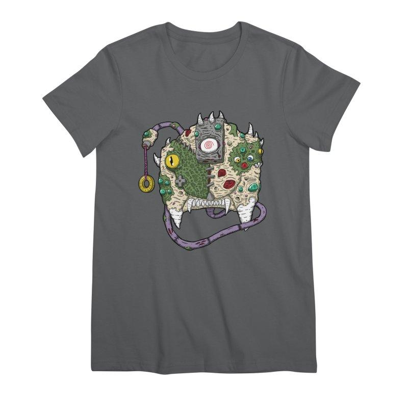 Controller Freaks - The DR34M-C45T Women's Premium T-Shirt by Mystic Soda