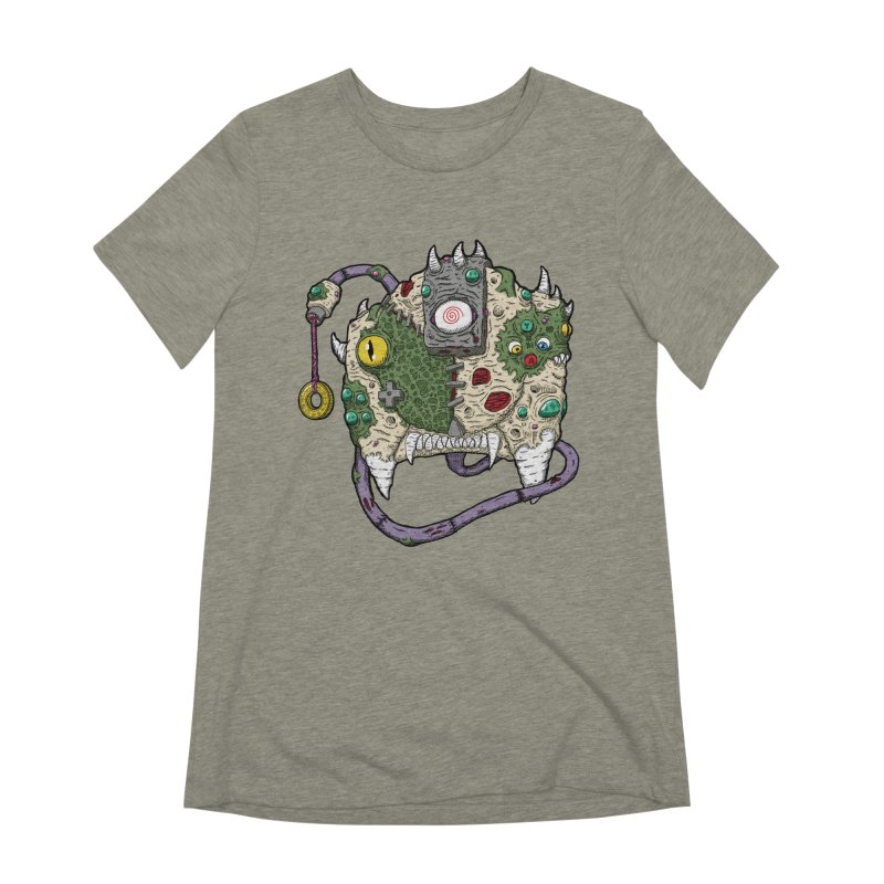 Controller Freaks - The DR34M-C45T Women's Extra Soft T-Shirt by Mystic Soda Shoppe