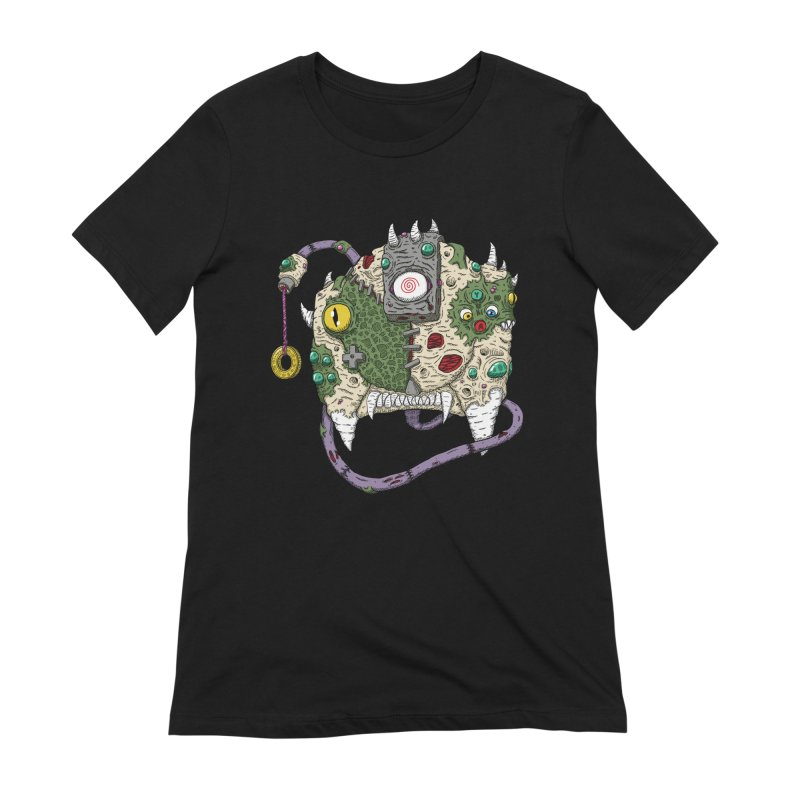 Controller Freaks - The DR34M-C45T Women's Extra Soft T-Shirt by Mystic Soda