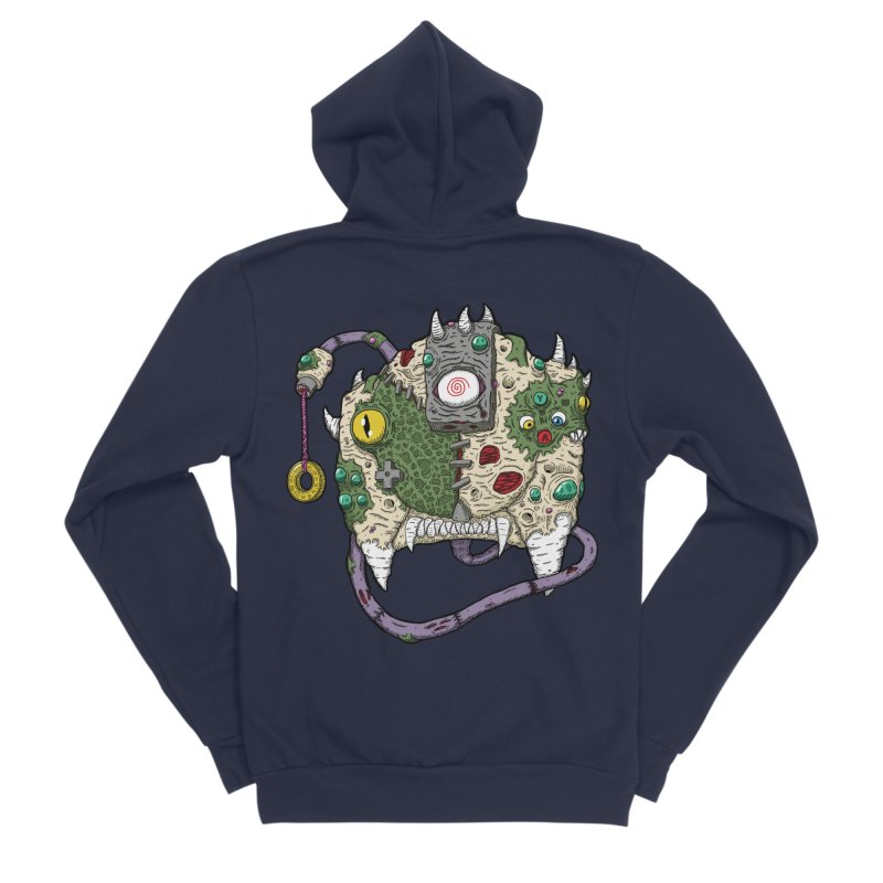 Controller Freaks - The DR34M-C45T Women's Sponge Fleece Zip-Up Hoody by Mystic Soda Shoppe