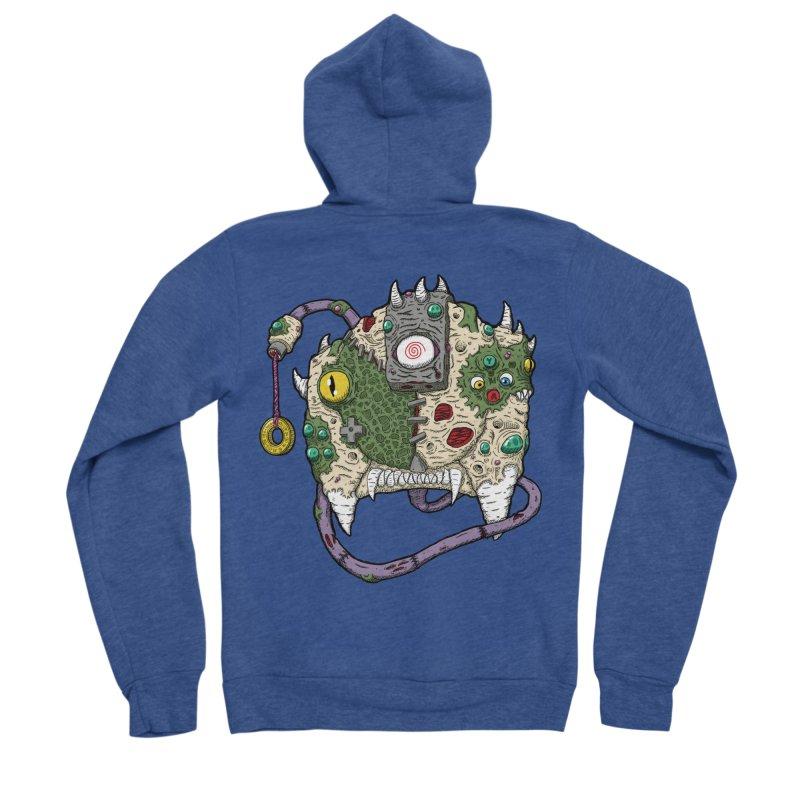 Controller Freaks - The DR34M-C45T Men's Sponge Fleece Zip-Up Hoody by Mystic Soda