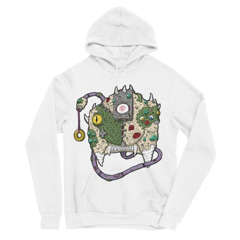 Controller Freaks - The DR34M-C45T Women's Sponge Fleece Pullover Hoody by Mystic Soda Shoppe