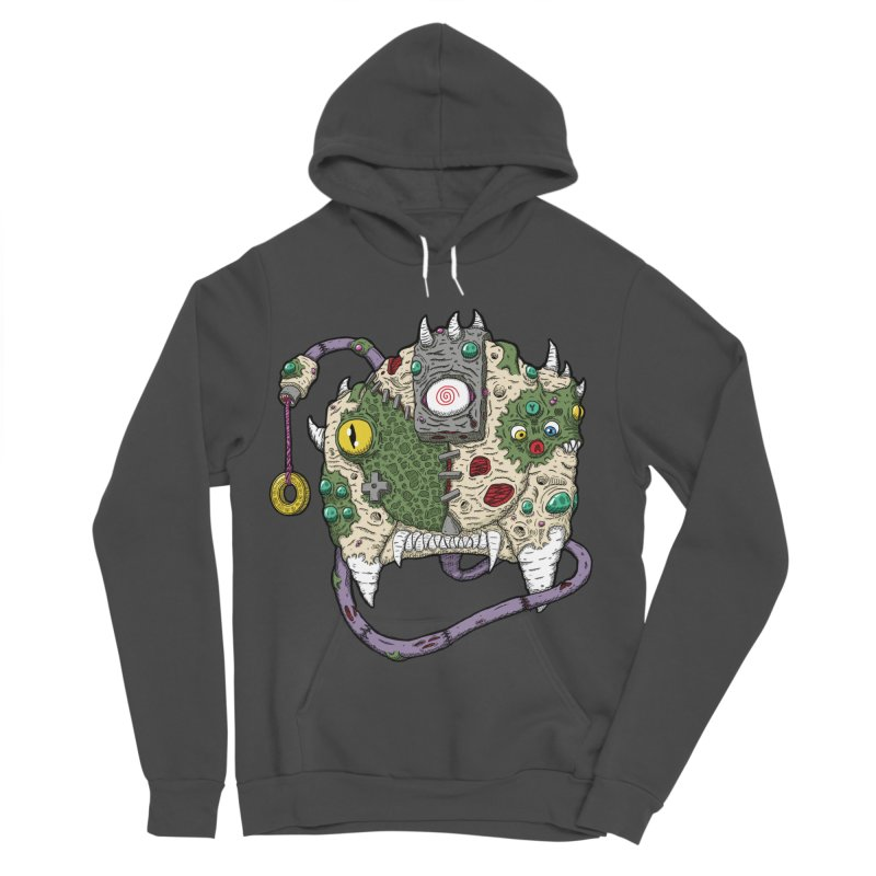 Controller Freaks - The DR34M-C45T Women's Sponge Fleece Pullover Hoody by Mystic Soda