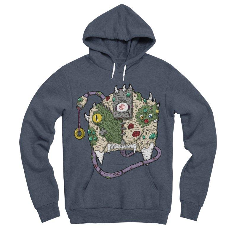 Controller Freaks - The DR34M-C45T Men's Sponge Fleece Pullover Hoody by Mystic Soda Shoppe