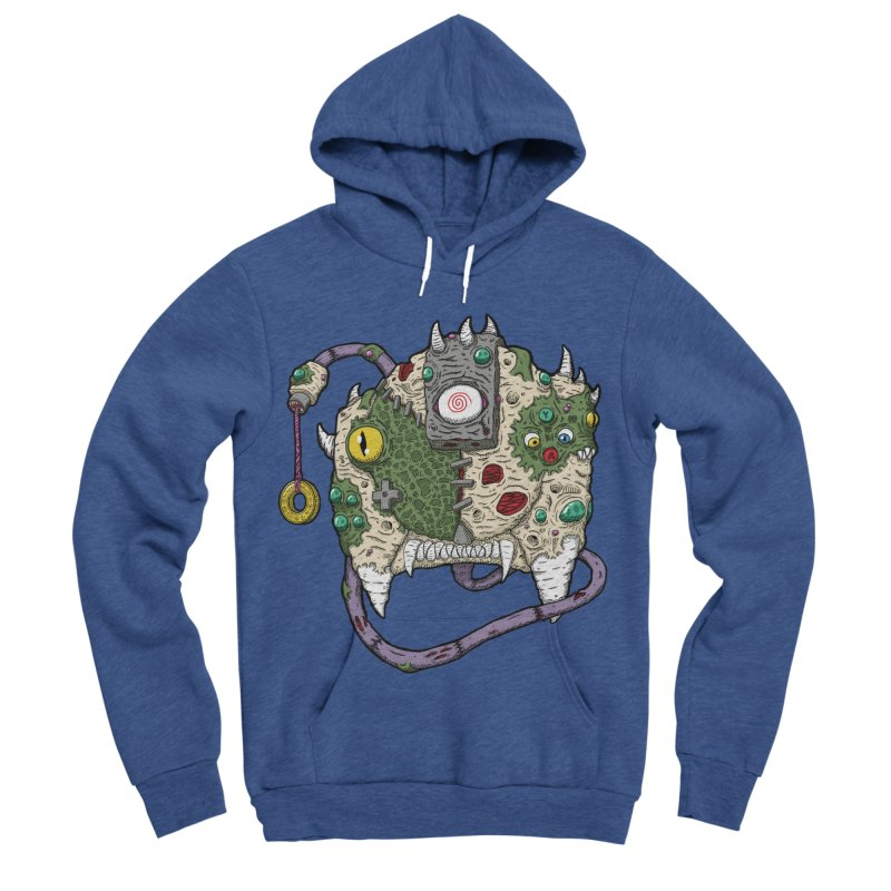 Controller Freaks - The DR34M-C45T Men's Sponge Fleece Pullover Hoody by Mystic Soda