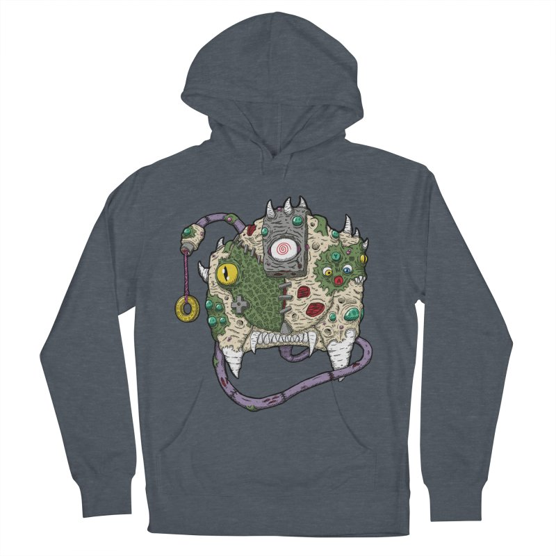 Controller Freaks - The DR34M-C45T Women's French Terry Pullover Hoody by Mystic Soda Shoppe