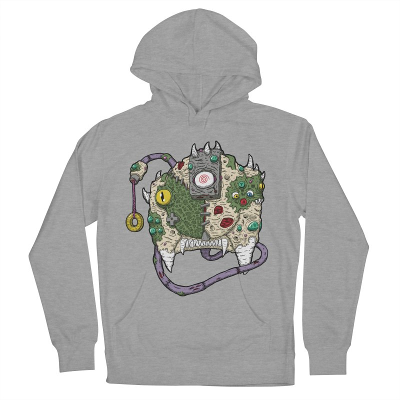 Controller Freaks - The DR34M-C45T Men's French Terry Pullover Hoody by Mystic Soda Shoppe