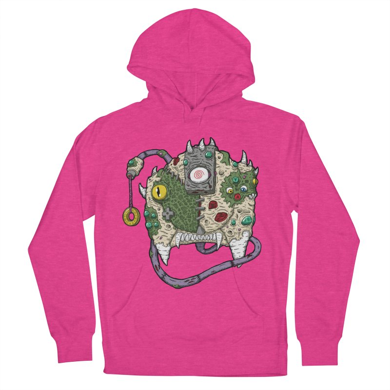 Controller Freaks - The DR34M-C45T Men's French Terry Pullover Hoody by Mystic Soda