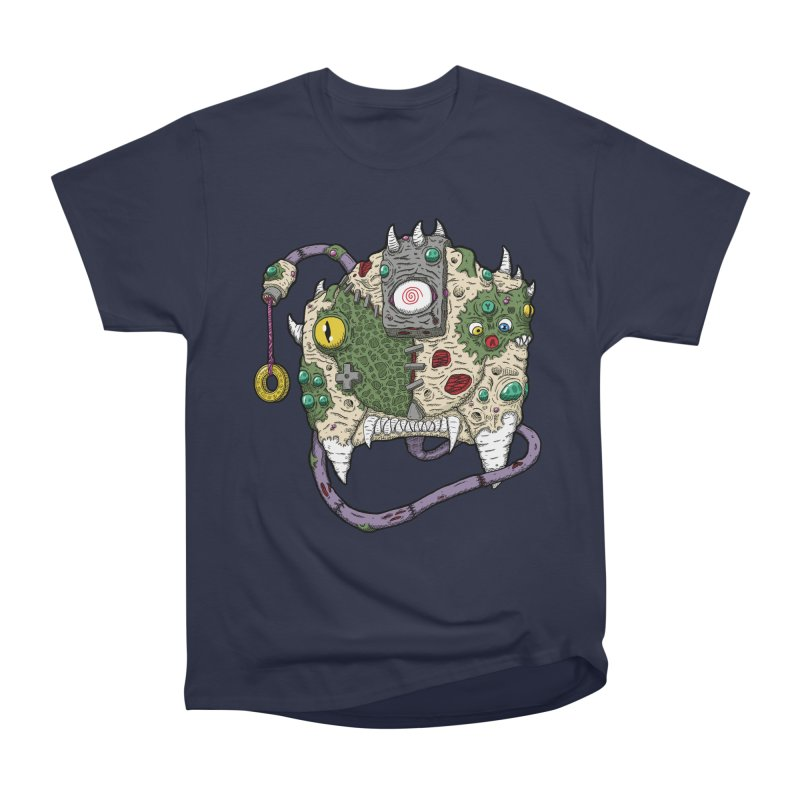 Controller Freaks - The DR34M-C45T Women's Heavyweight Unisex T-Shirt by Mystic Soda Shoppe