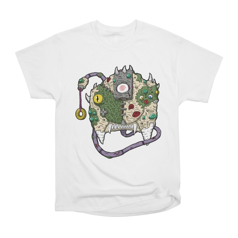 Controller Freaks - The DR34M-C45T Men's Heavyweight T-Shirt by Mystic Soda Shoppe