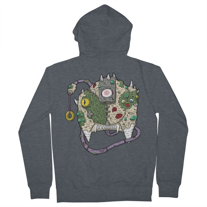 Controller Freaks - The DR34M-C45T Women's French Terry Zip-Up Hoody by Mystic Soda