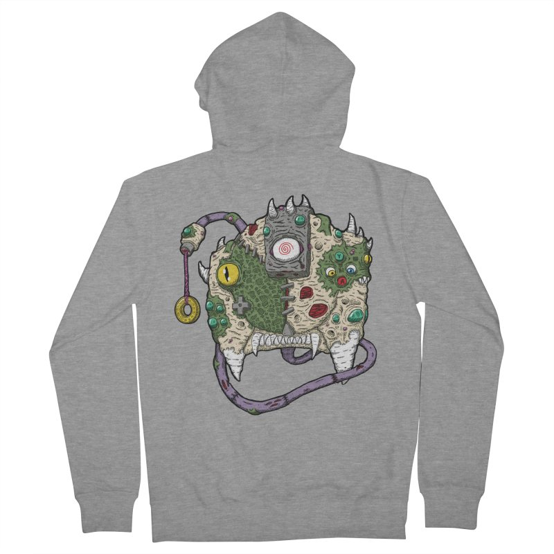 Controller Freaks - The DR34M-C45T Women's French Terry Zip-Up Hoody by Mystic Soda Shoppe