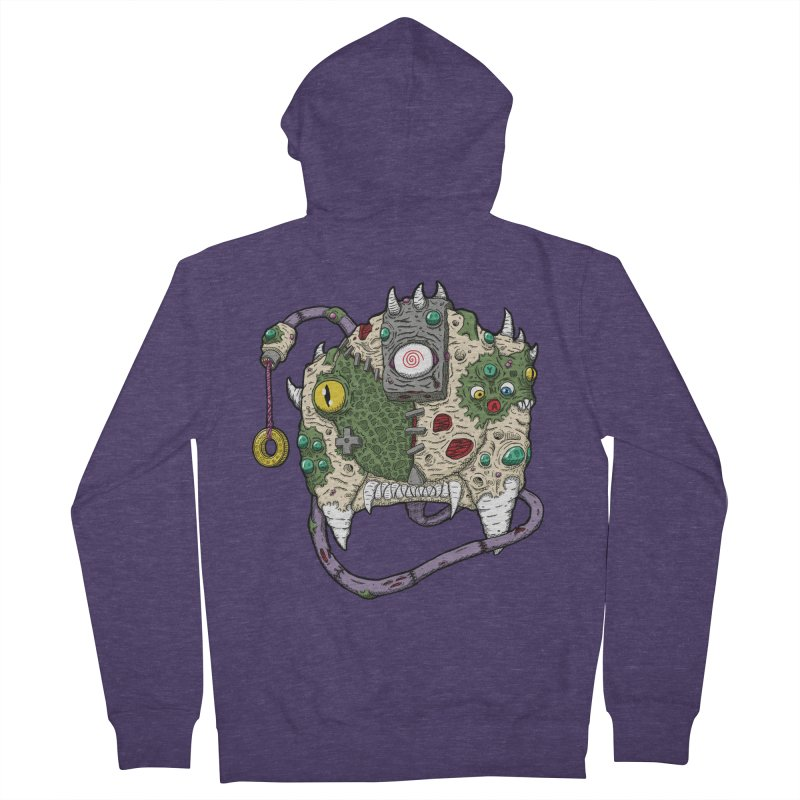 Controller Freaks - The DR34M-C45T Men's French Terry Zip-Up Hoody by Mystic Soda Shoppe