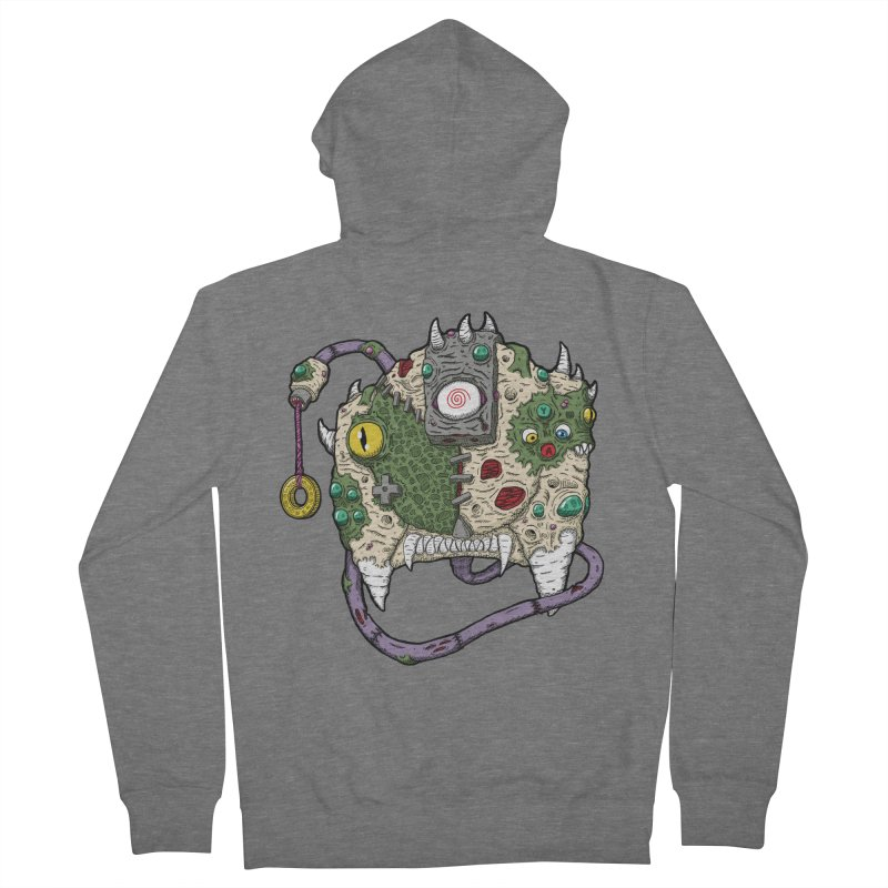 Controller Freaks - The DR34M-C45T Men's French Terry Zip-Up Hoody by Mystic Soda