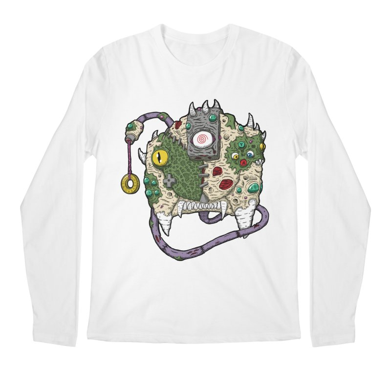 Controller Freaks - The DR34M-C45T Men's Regular Longsleeve T-Shirt by Mystic Soda Shoppe