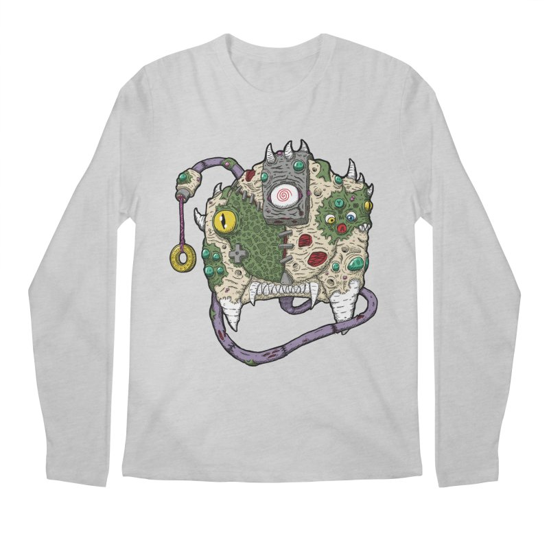 Controller Freaks - The DR34M-C45T Men's Regular Longsleeve T-Shirt by Mystic Soda Shoppe