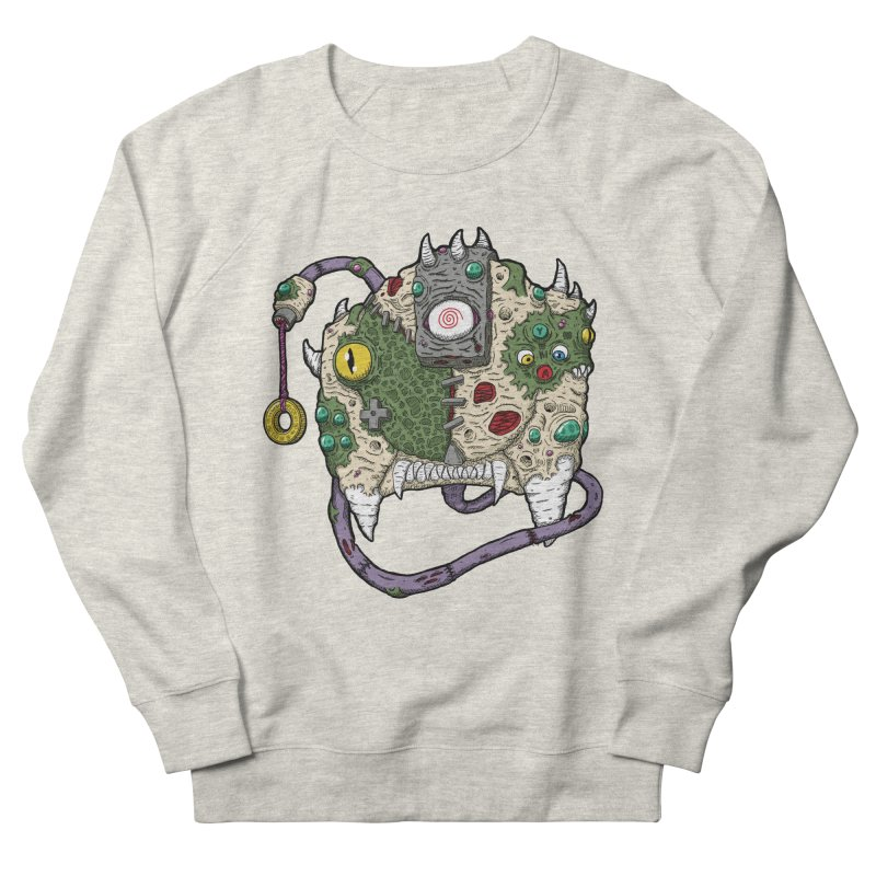 Controller Freaks - The DR34M-C45T Men's French Terry Sweatshirt by Mystic Soda Shoppe