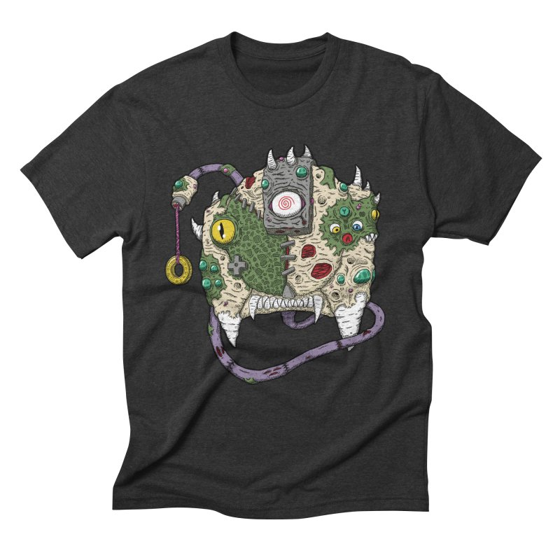 Controller Freaks - The DR34M-C45T Men's Triblend T-Shirt by Mystic Soda