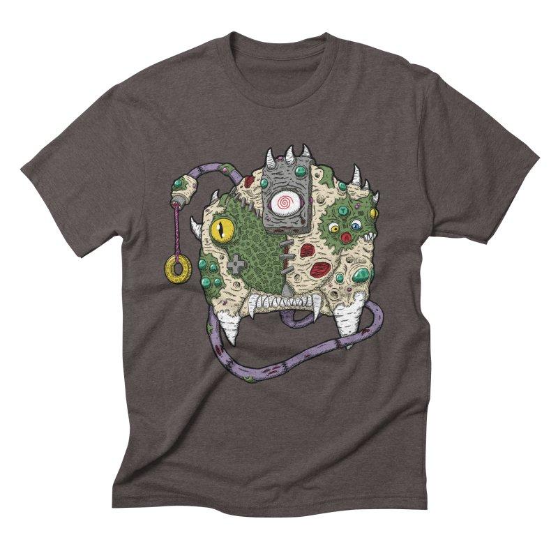 Controller Freaks - The DR34M-C45T Men's Triblend T-Shirt by Mystic Soda Shoppe