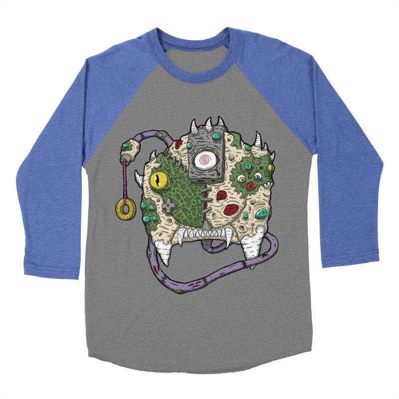 Controller Freaks - The DR34M-C45T Women's Baseball Triblend Longsleeve T-Shirt by Mystic Soda Shoppe