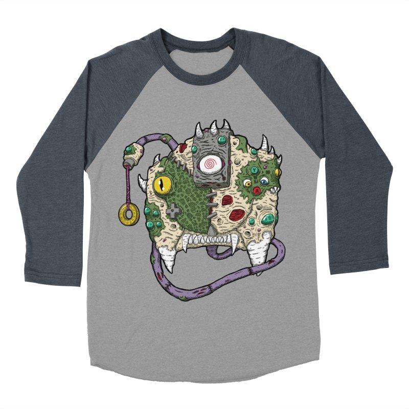 Controller Freaks - The DR34M-C45T Women's Baseball Triblend Longsleeve T-Shirt by Mystic Soda