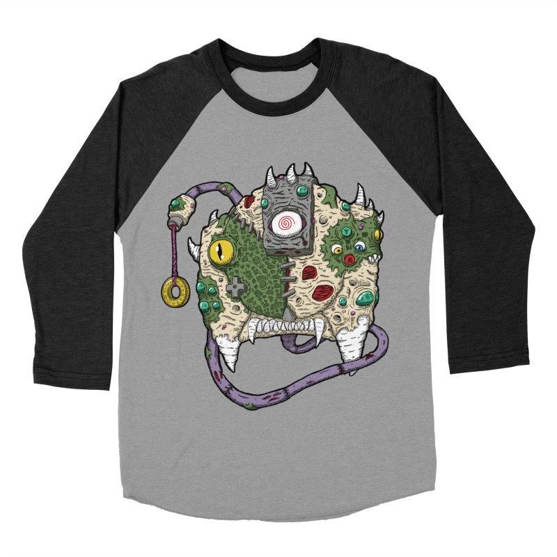 Controller Freaks - The DR34M-C45T Men's Baseball Triblend Longsleeve T-Shirt by Mystic Soda