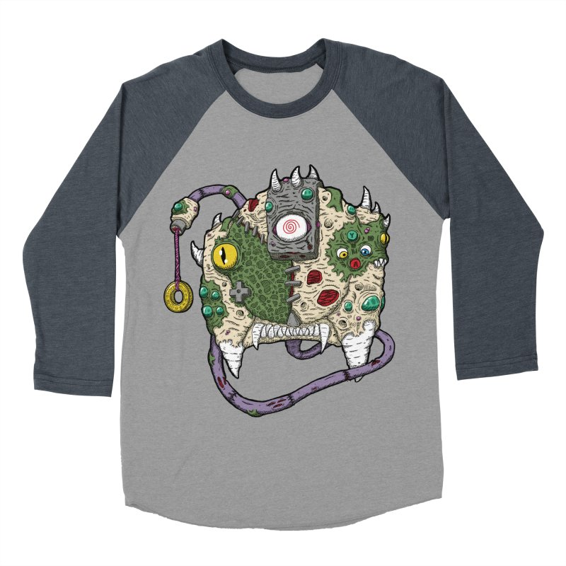 Controller Freaks - The DR34M-C45T Men's Baseball Triblend Longsleeve T-Shirt by Mystic Soda Shoppe