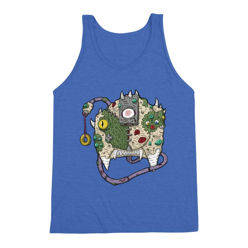 Controller Freaks - The DR34M-C45T Men's Triblend Tank by Mystic Soda
