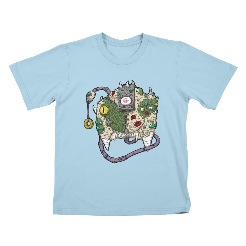 Controller Freaks - The DR34M-C45T Kids T-Shirt by Mystic Soda