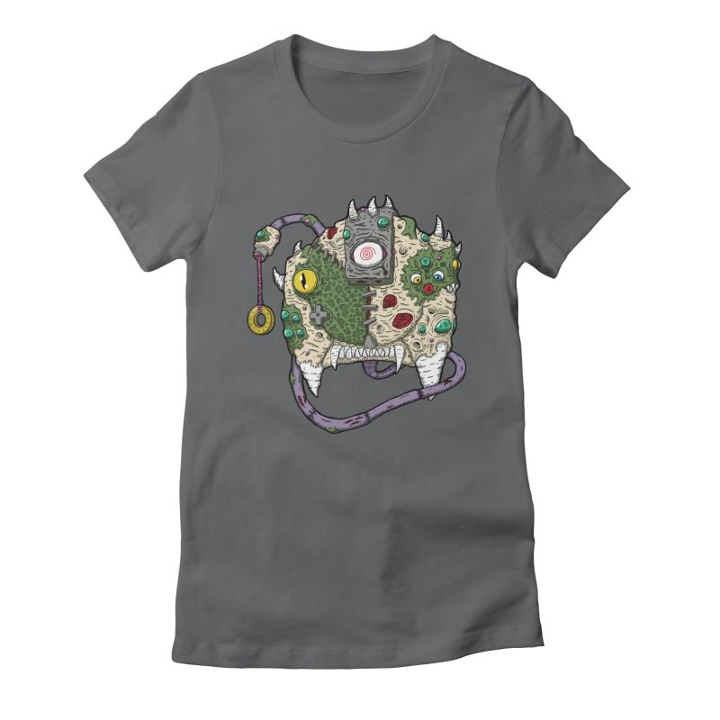 Controller Freaks - The DR34M-C45T Women's Fitted T-Shirt by Mystic Soda Shoppe