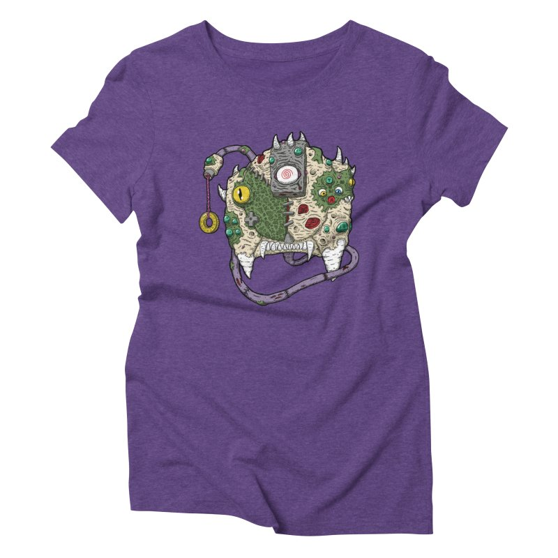 Controller Freaks - The DR34M-C45T Women's Triblend T-Shirt by Mystic Soda Shoppe