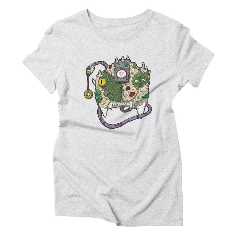 Controller Freaks - The DR34M-C45T Women's Triblend T-Shirt by Mystic Soda