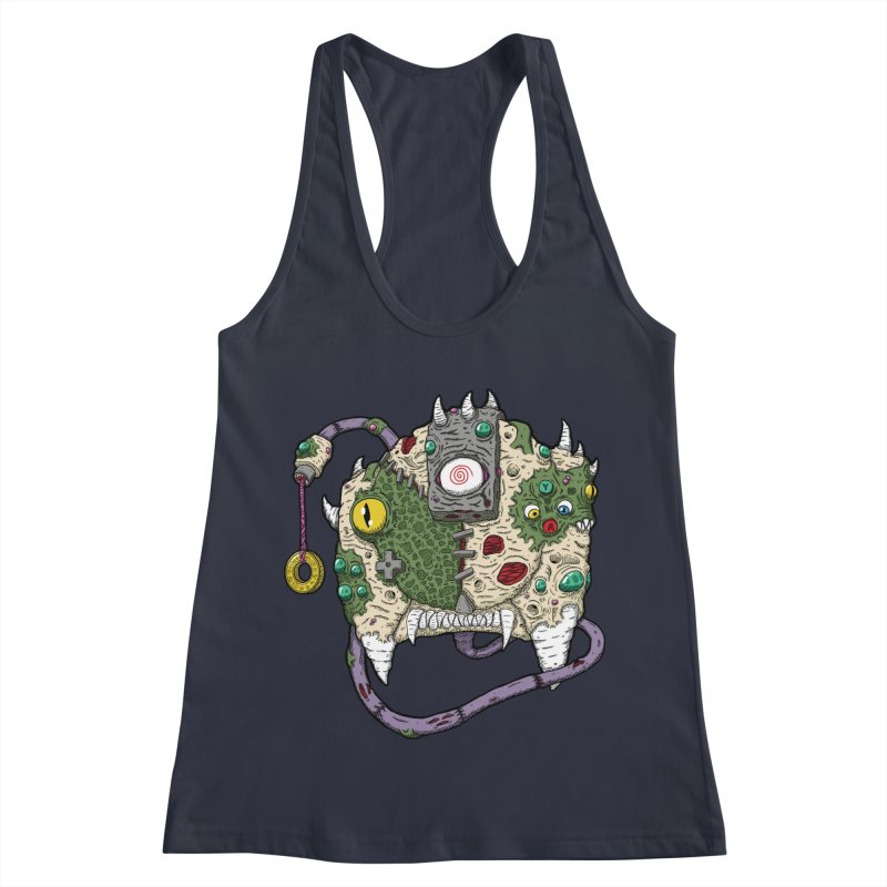 Controller Freaks - The DR34M-C45T Women's Racerback Tank by Mystic Soda