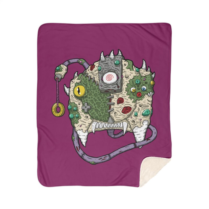 Controller Freaks - The DR34M-C45T Home Sherpa Blanket Blanket by Mystic Soda
