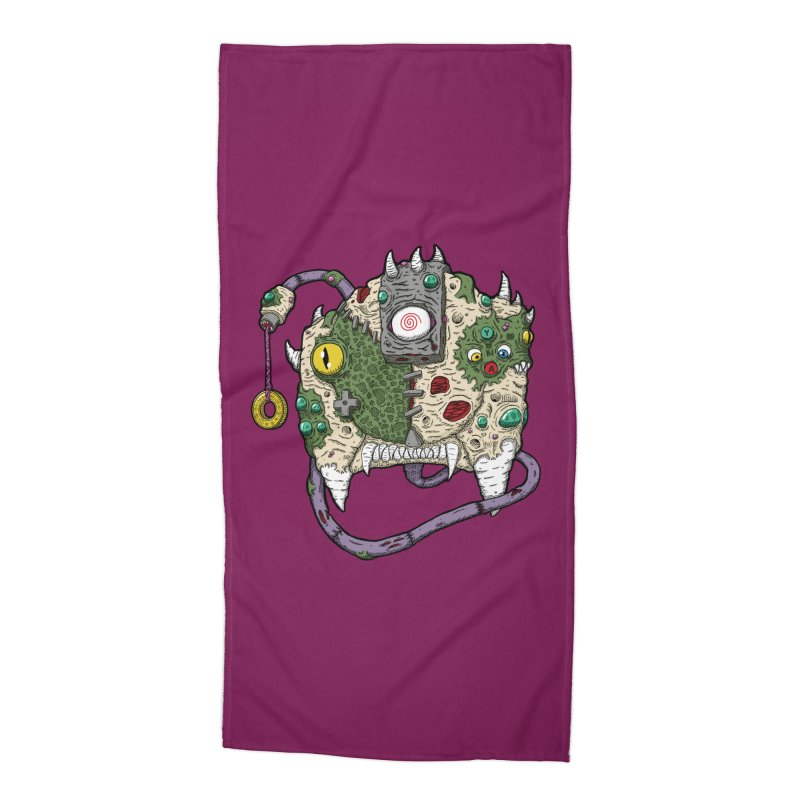 Controller Freaks - The DR34M-C45T Accessories Beach Towel by Mystic Soda