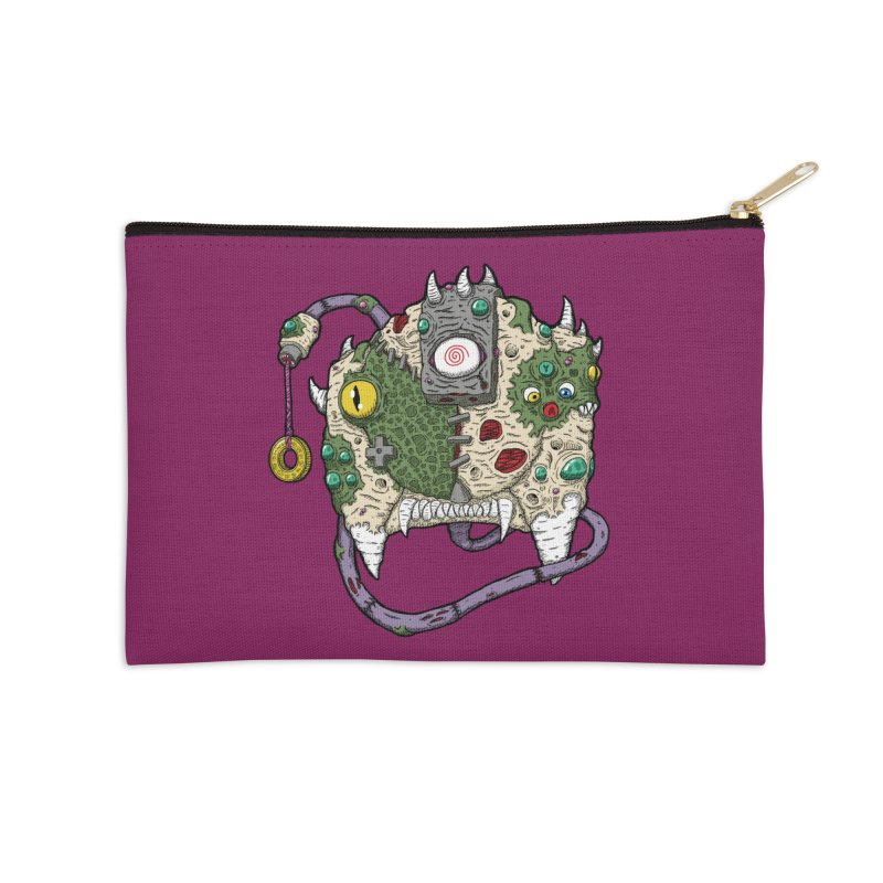 Controller Freaks - The DR34M-C45T Accessories Zip Pouch by Mystic Soda