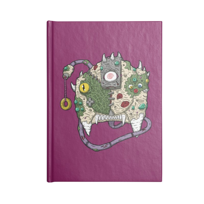 Controller Freaks - The DR34M-C45T Accessories Lined Journal Notebook by Mystic Soda