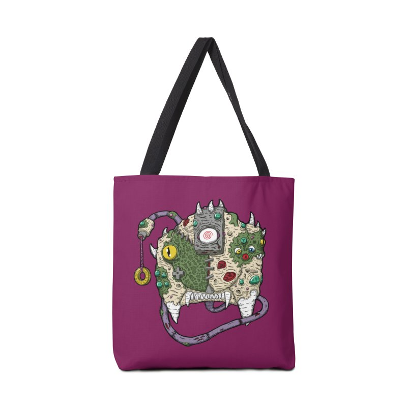 Controller Freaks - The DR34M-C45T Accessories Tote Bag Bag by Mystic Soda