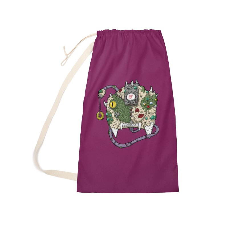 Controller Freaks - The DR34M-C45T Accessories Laundry Bag Bag by Mystic Soda