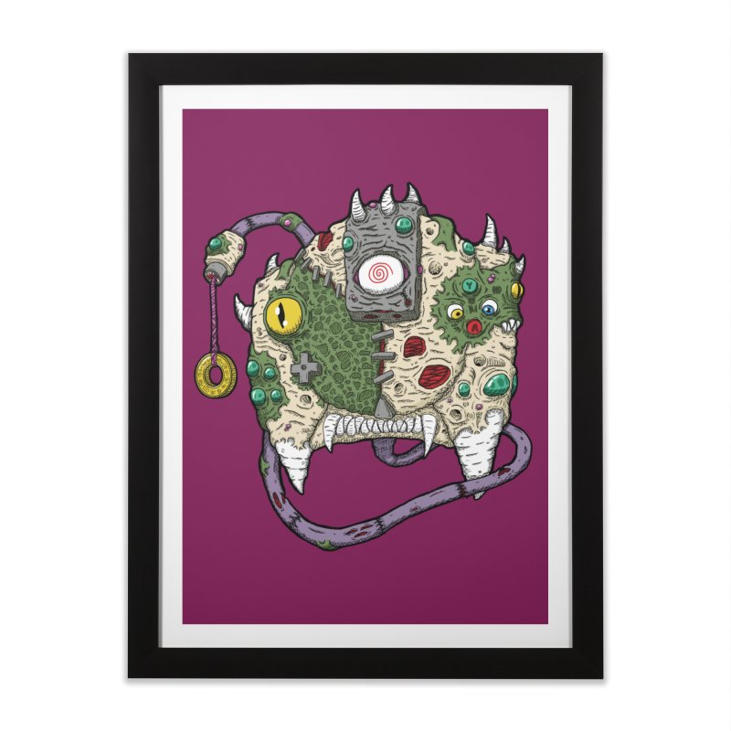 Controller Freaks - The DR34M-C45T Home Framed Fine Art Print by Mystic Soda