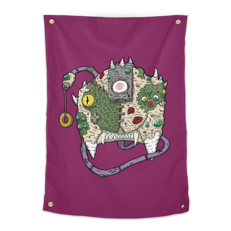 Controller Freaks - The DR34M-C45T Home Tapestry by Mystic Soda Shoppe