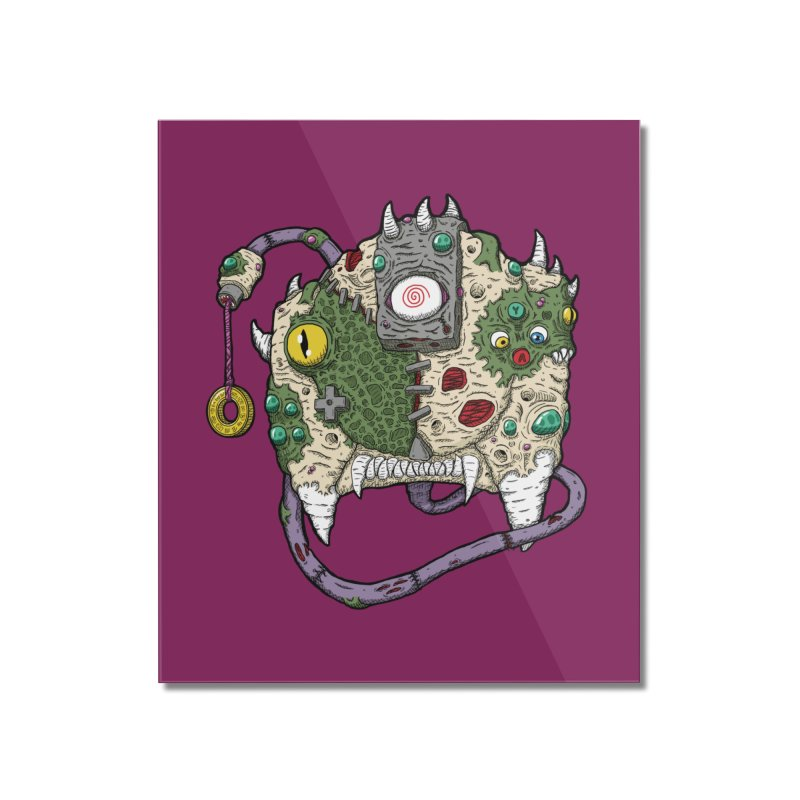 Controller Freaks - The DR34M-C45T Home Mounted Acrylic Print by Mystic Soda