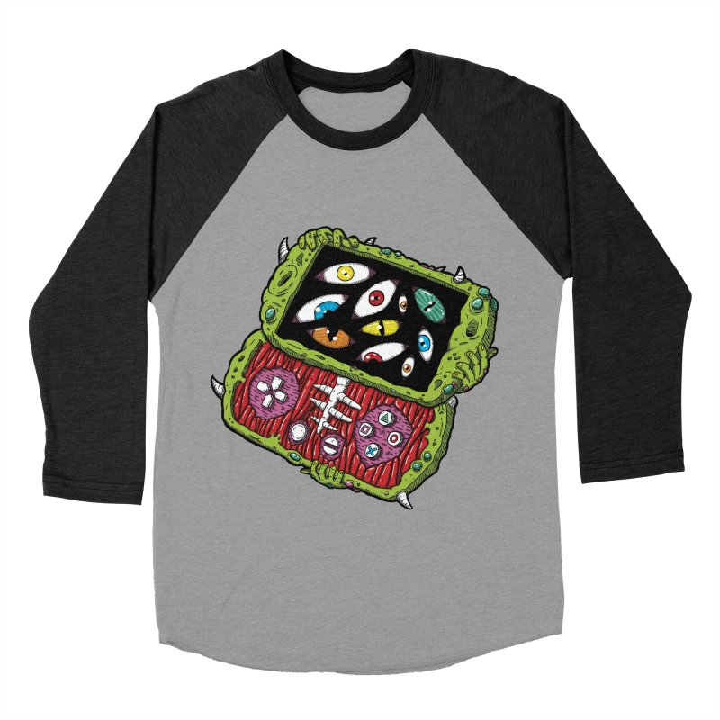 Controller Freaks - Subject P5P-G0 Men's Baseball Triblend Longsleeve T-Shirt by Mystic Soda