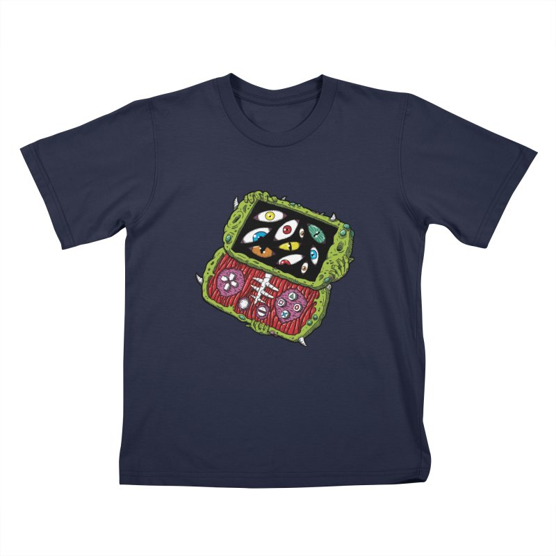 Controller Freaks - Subject P5P-G0 Kids T-Shirt by Mystic Soda