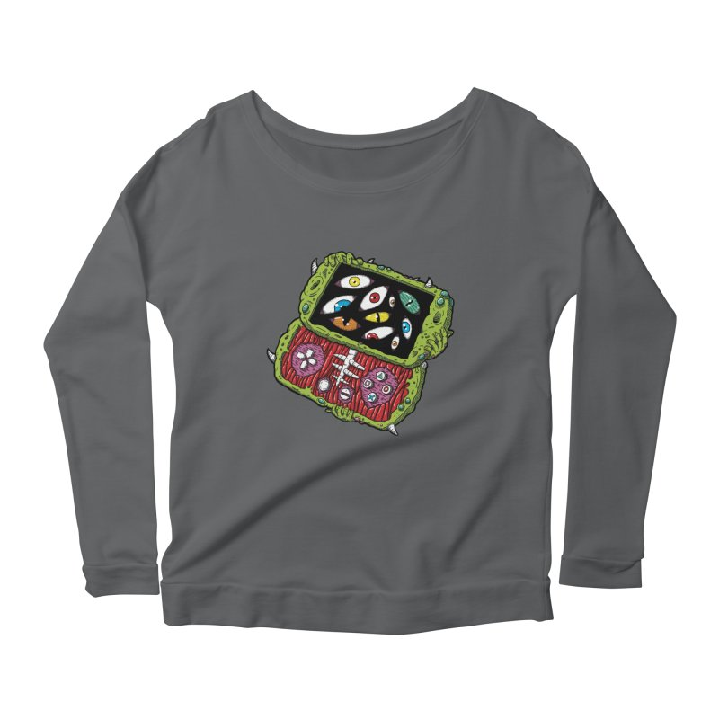 Controller Freaks - Subject P5P-G0 Women's Scoop Neck Longsleeve T-Shirt by Mystic Soda
