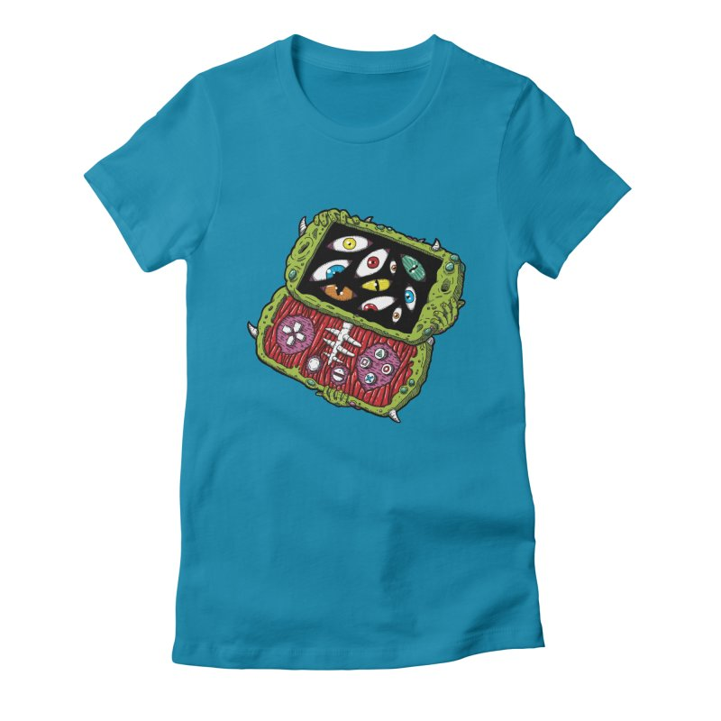 Controller Freaks - Subject P5P-G0 Women's Fitted T-Shirt by Mystic Soda