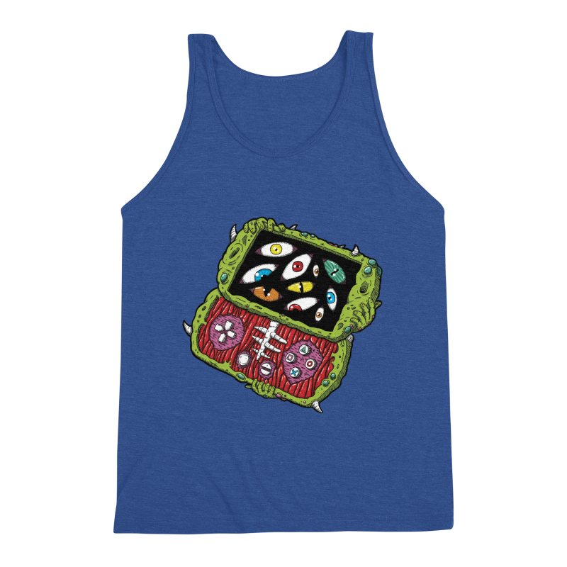 Controller Freaks - Subject P5P-G0 Men's Triblend Tank by Mystic Soda