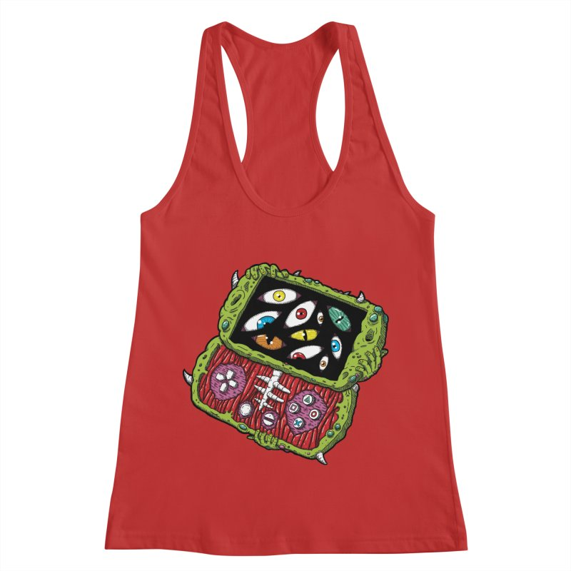 Controller Freaks - Subject P5P-G0 Women's Racerback Tank by Mystic Soda