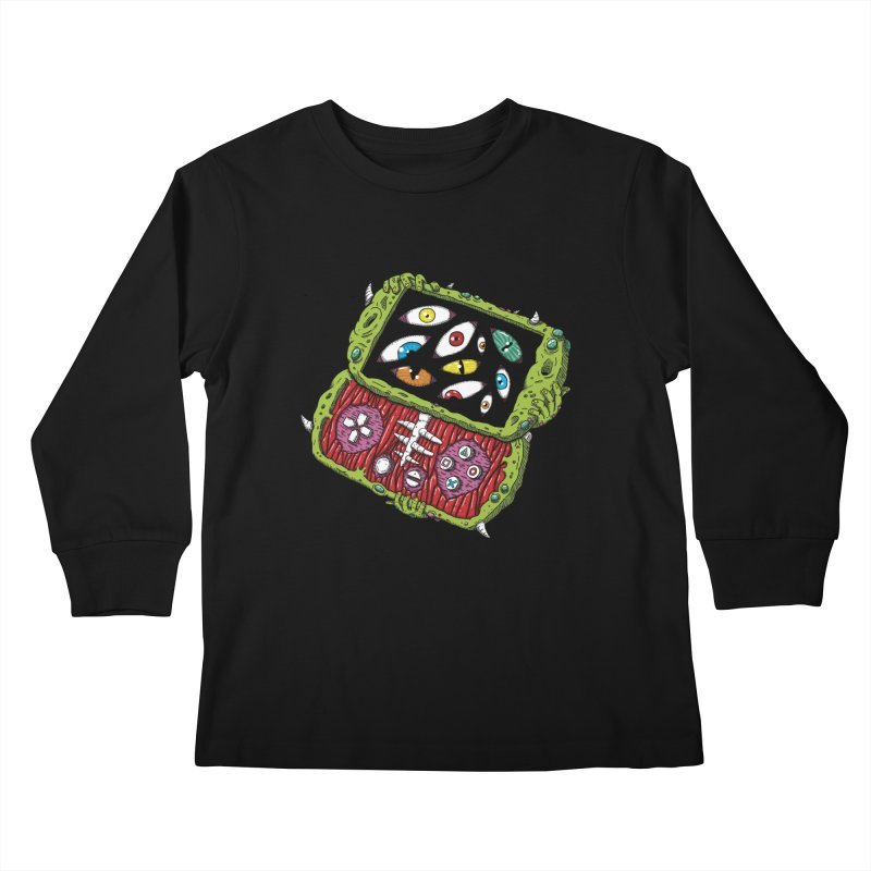 Controller Freaks - Subject P5P-G0 Kids Longsleeve T-Shirt by Mystic Soda