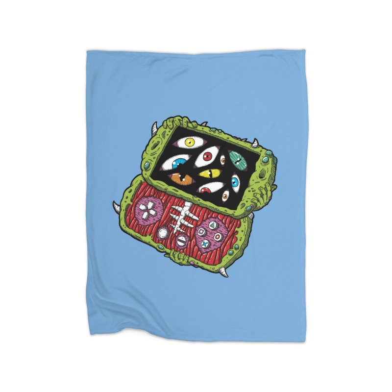 Controller Freaks - Subject P5P-G0 Home Fleece Blanket Blanket by Mystic Soda